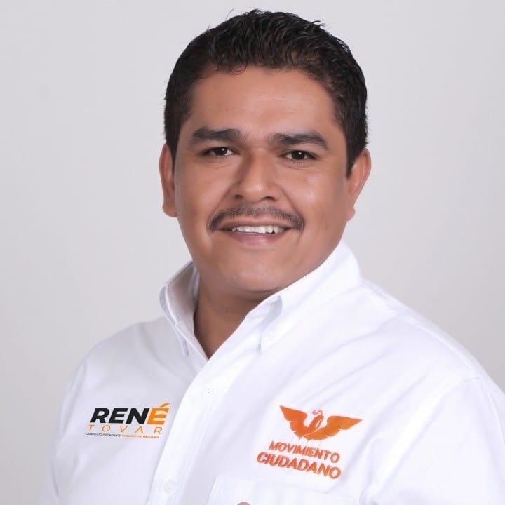 René Tovar, candidato de Movimiento Ciudadano a la alcaldía de Cazones, Veracruz