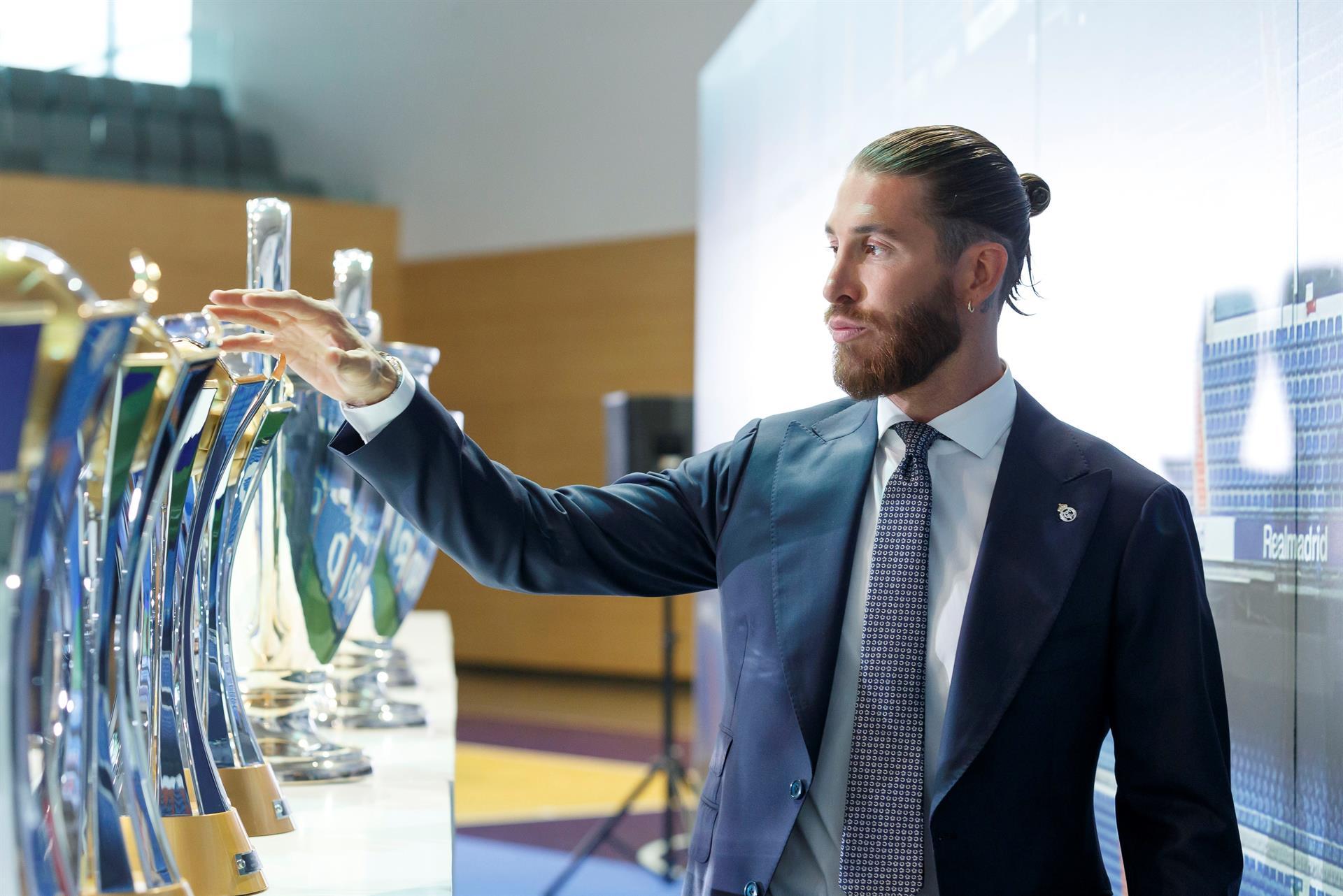 El futbolista Sergio Ramos