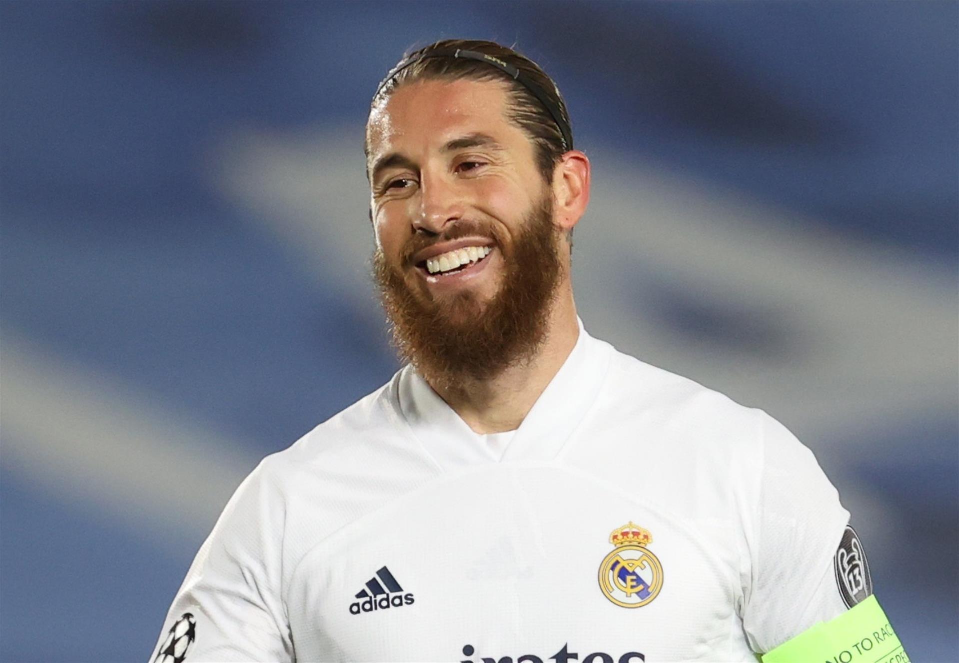 Sergio Ramos, futbolista del Real Madrid