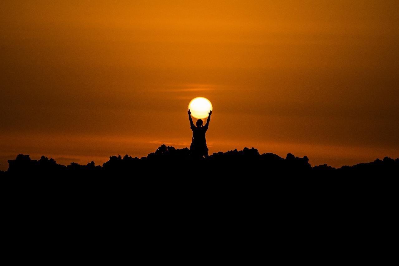 Foto del sol para ilustrar el Solsticio de Verano 2021