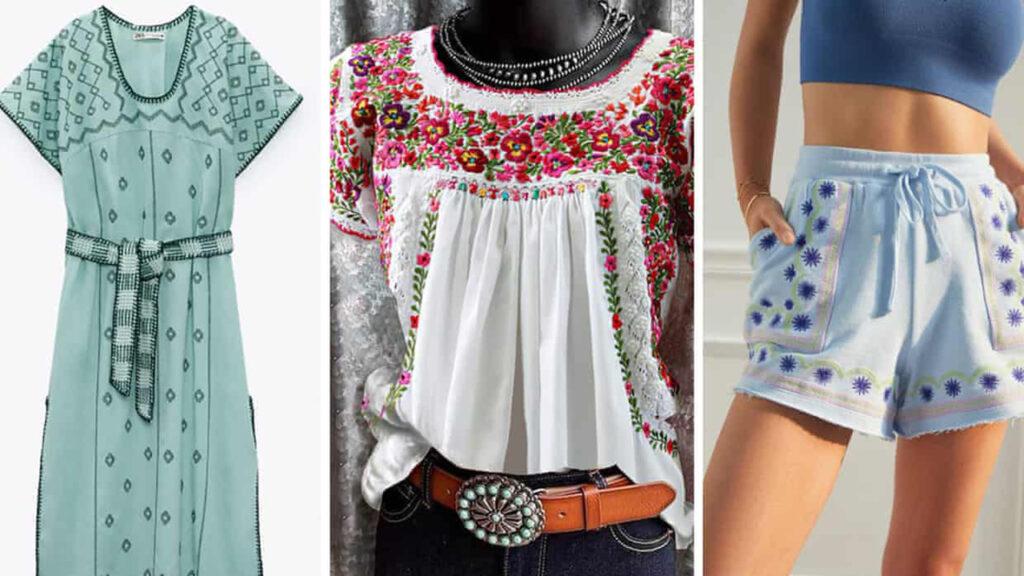 México acusa a Zara y Anthropologie de apropiación cultural