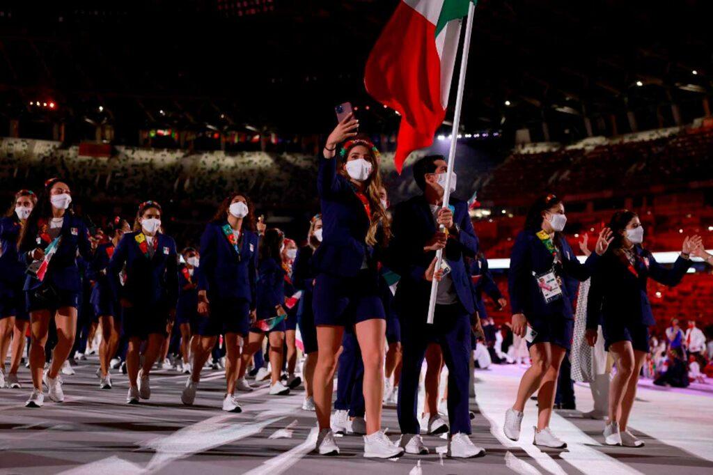 Así fue el paso de México por la inauguración de los Juegos Olímpicos de Tokio 2020