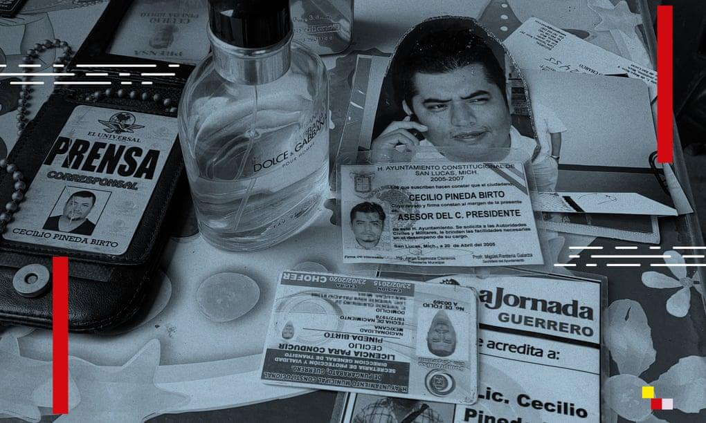 El número de Cecilio Pineda, periodista asesinado en 2017, aparece en lista vinculada a Pegasus
