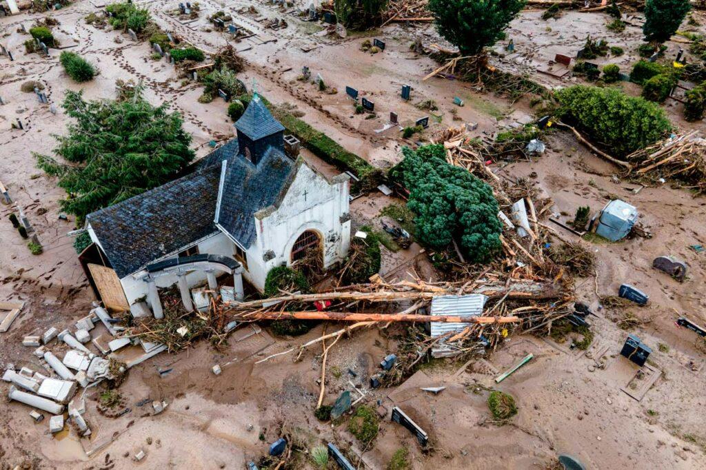 Las inundaciones en Alemania y Bélgica suman 187 muertos