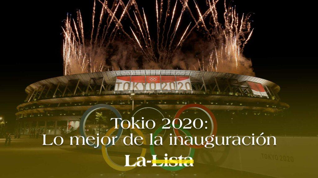 Estos fueron los mejores momentos en la inauguración de los Juegos Olímpicos de Tokio 2020.