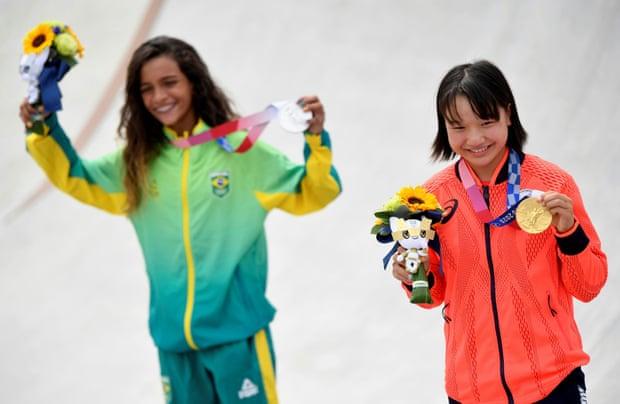 Las chicas del skateboarding femenino acaparan la atención en Tokio