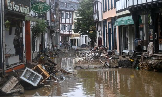 ¿Qué está causando las inundaciones en Europa?