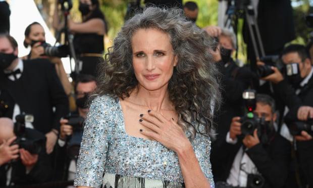 Canas glamurosas en Cannes: las estrellas muestran su cabello plateado