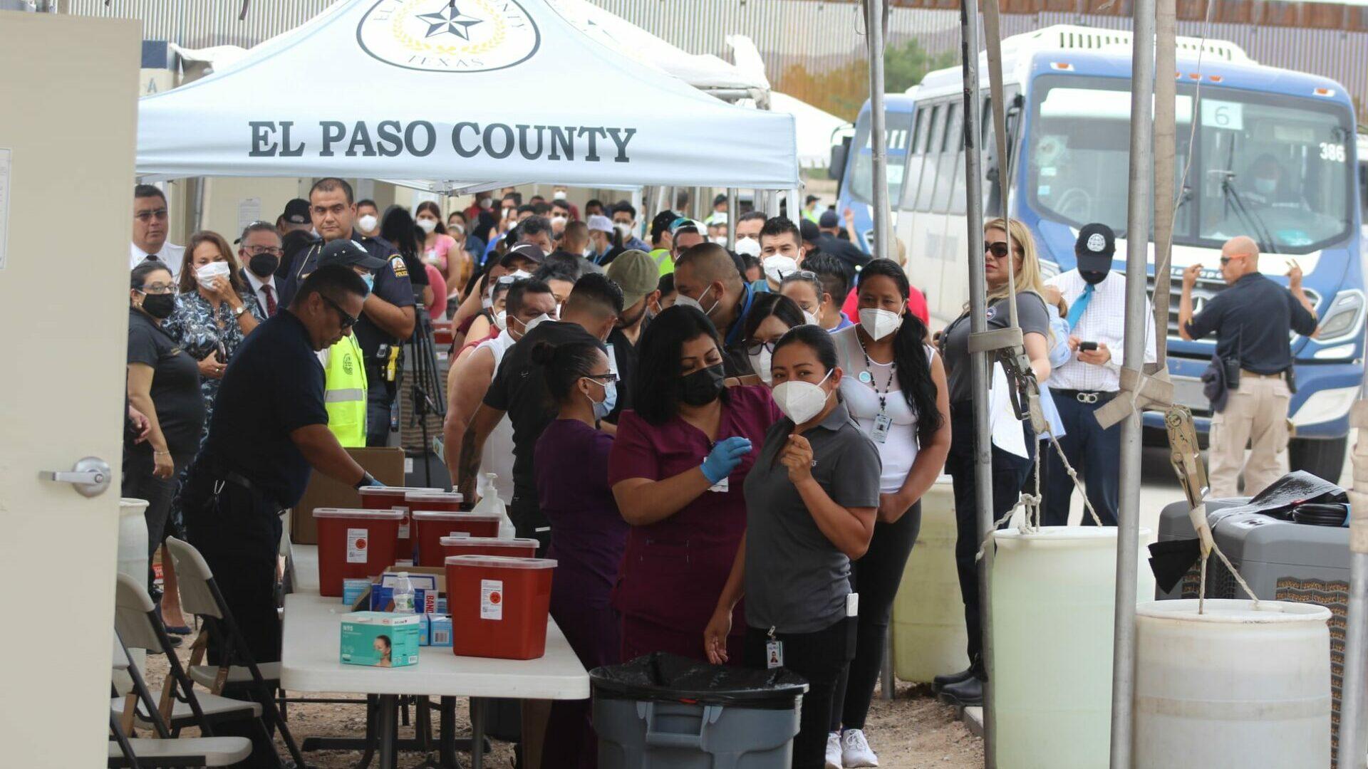Vacunación El Paso Ciudad Juárez