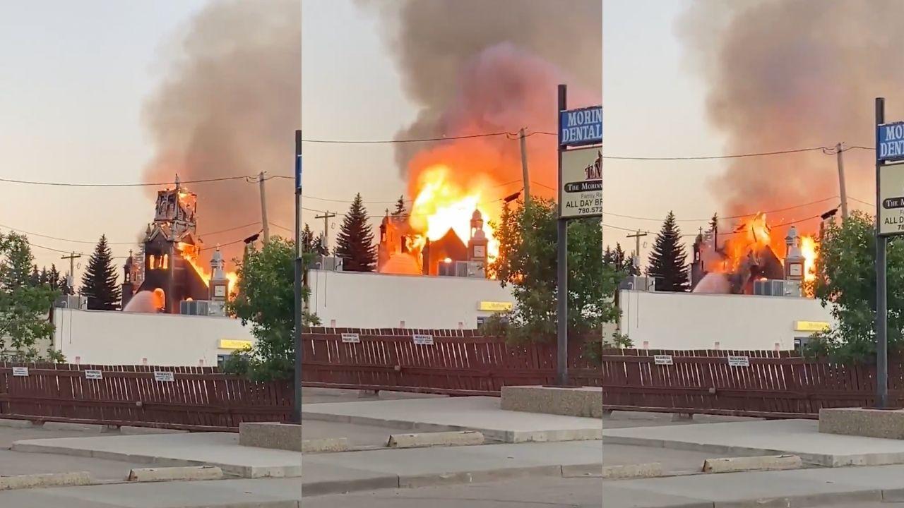 incendian iglesias en Canadá