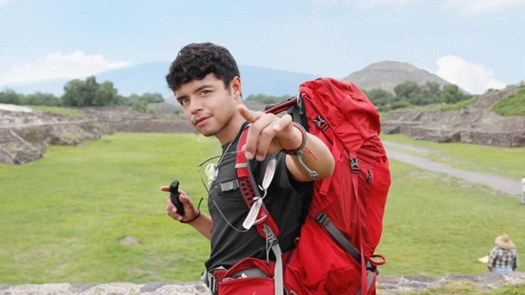 'En la pandemia noté que vivía en una burbuja': Jonatan, el mexicano que recorrerá el mundo caminando