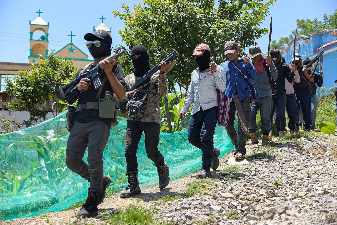 Los Machetes, la autodefensa que nació en Chiapas