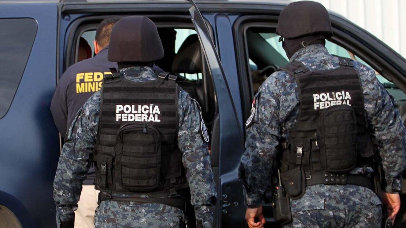 Policía federal Guardia Nacional