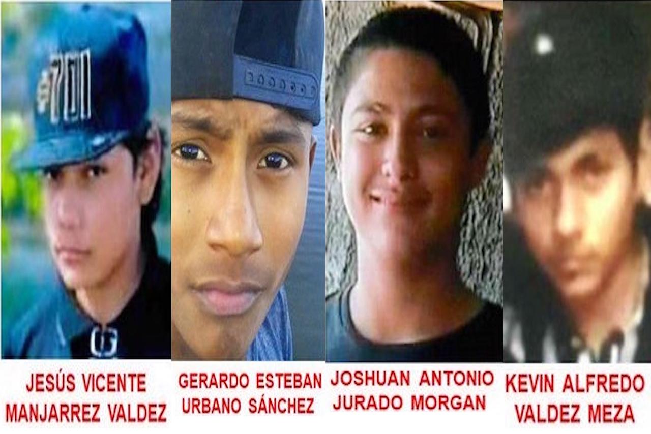 Adolescentes desaparecidos en Culiacán