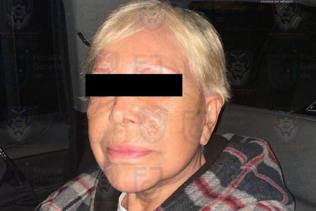 La Fiscalía traslada a prisión domiciliaria a Alejandra Barrios, lideresa de comerciantes de la CDMX