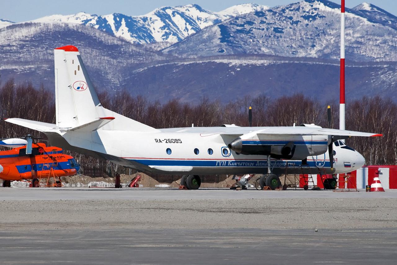 avión desaparecido en Rusia