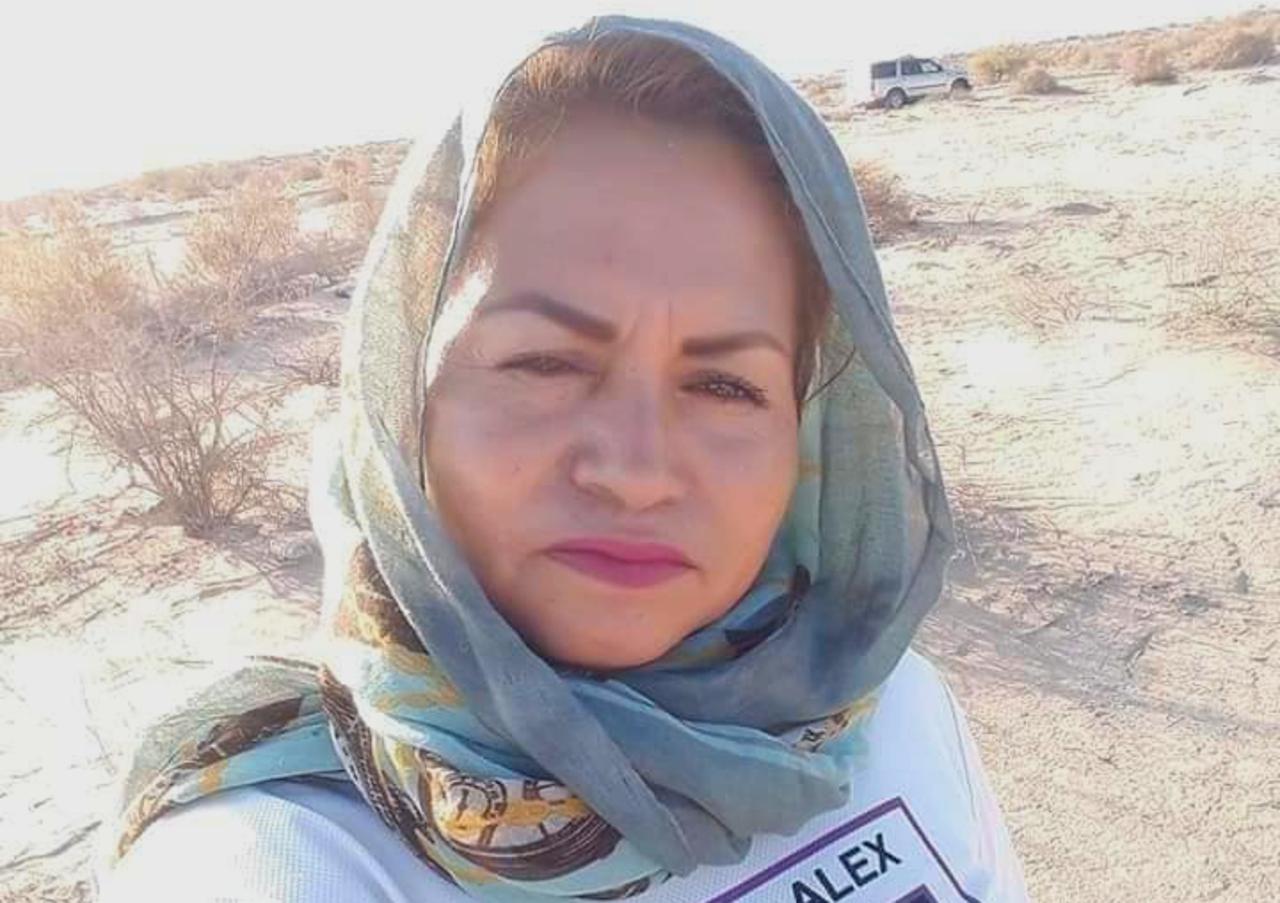 Foto de Ceci Flores líder Madres Buscadoras de Sonora