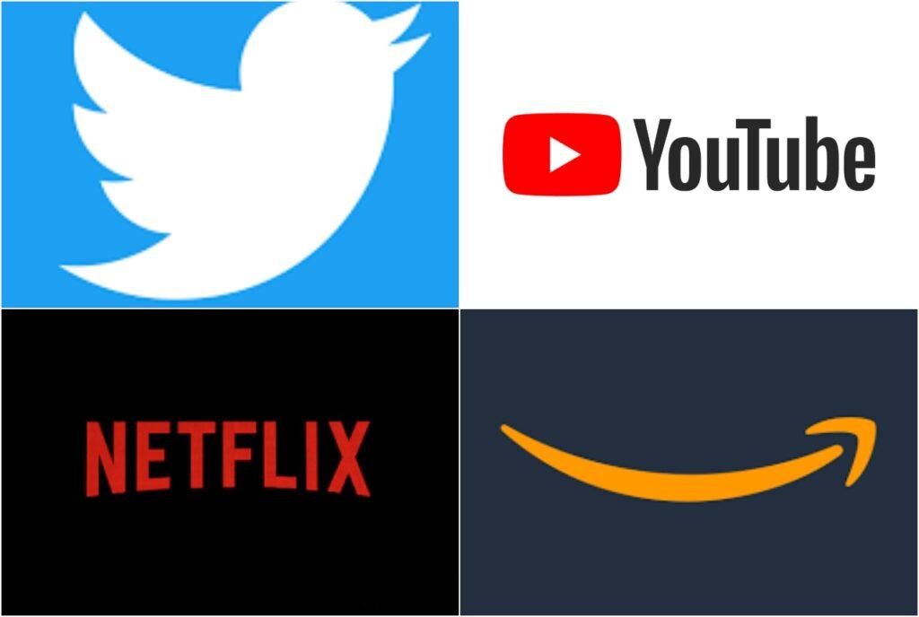 YouTube, Netflix, Twitter y Amazon, entre los sitios que más contaminan, según estudio