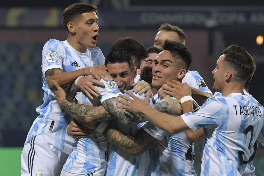 Semifinales a la Copa América