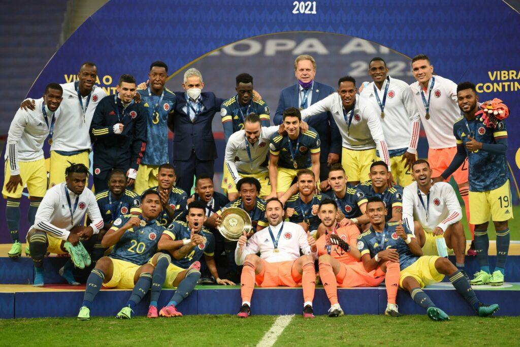Colombia gana el tercer lugar de la Copa América tras derrotar a Perú