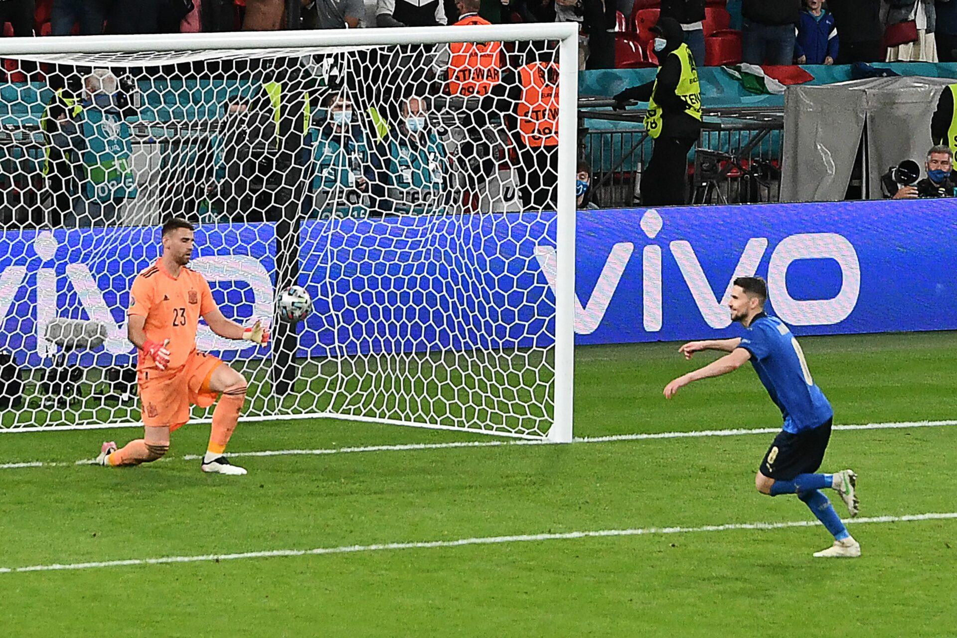 Italia, en la final de la Eurocopa