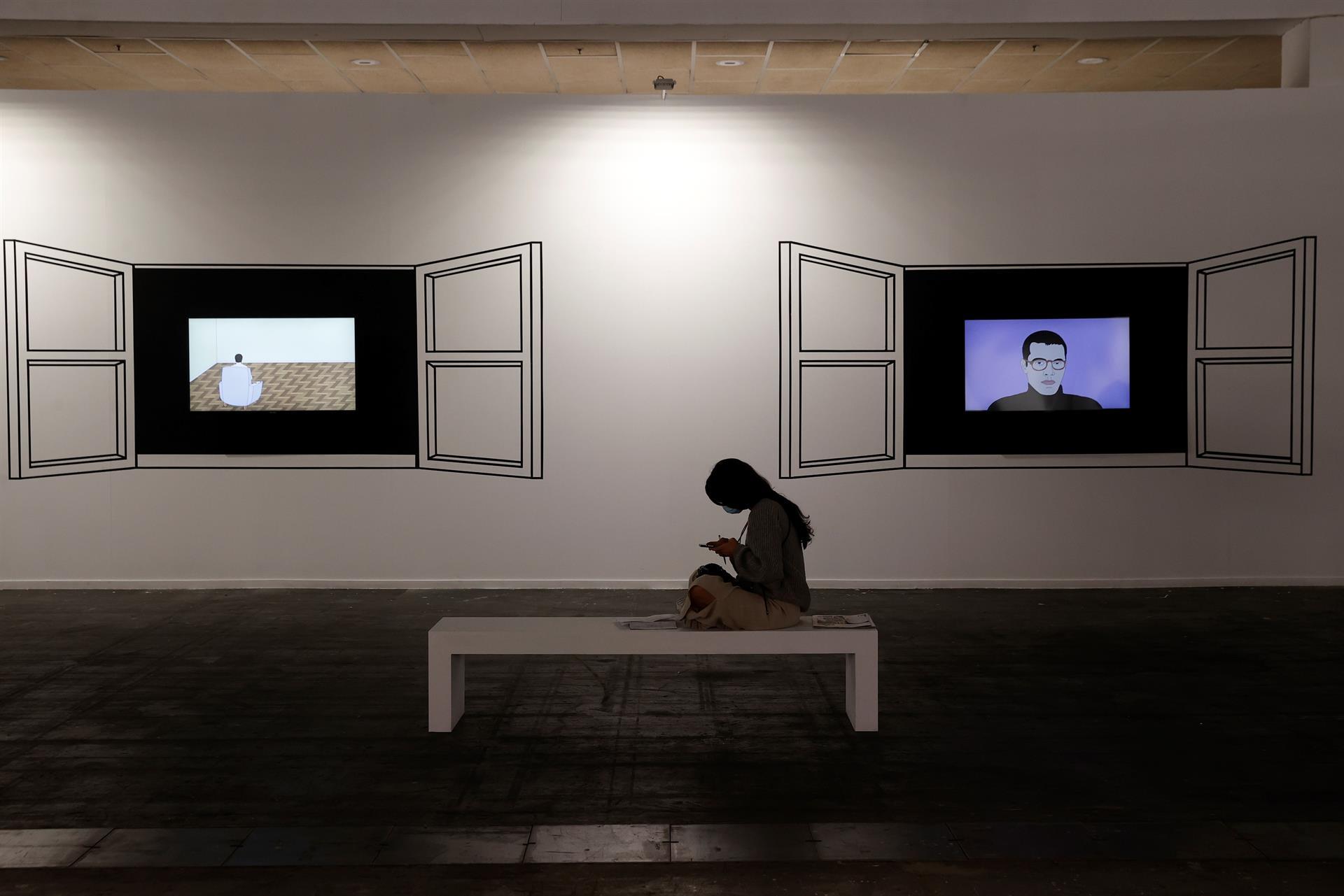 Feria de arte ARCO en Madrid