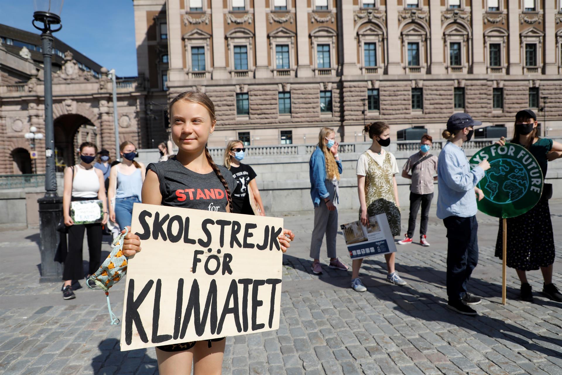 Activista Greta Thunberg