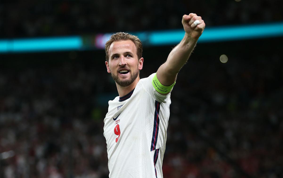 Harry Kane, jugador de Inglaterra en la Eurocopa 2020