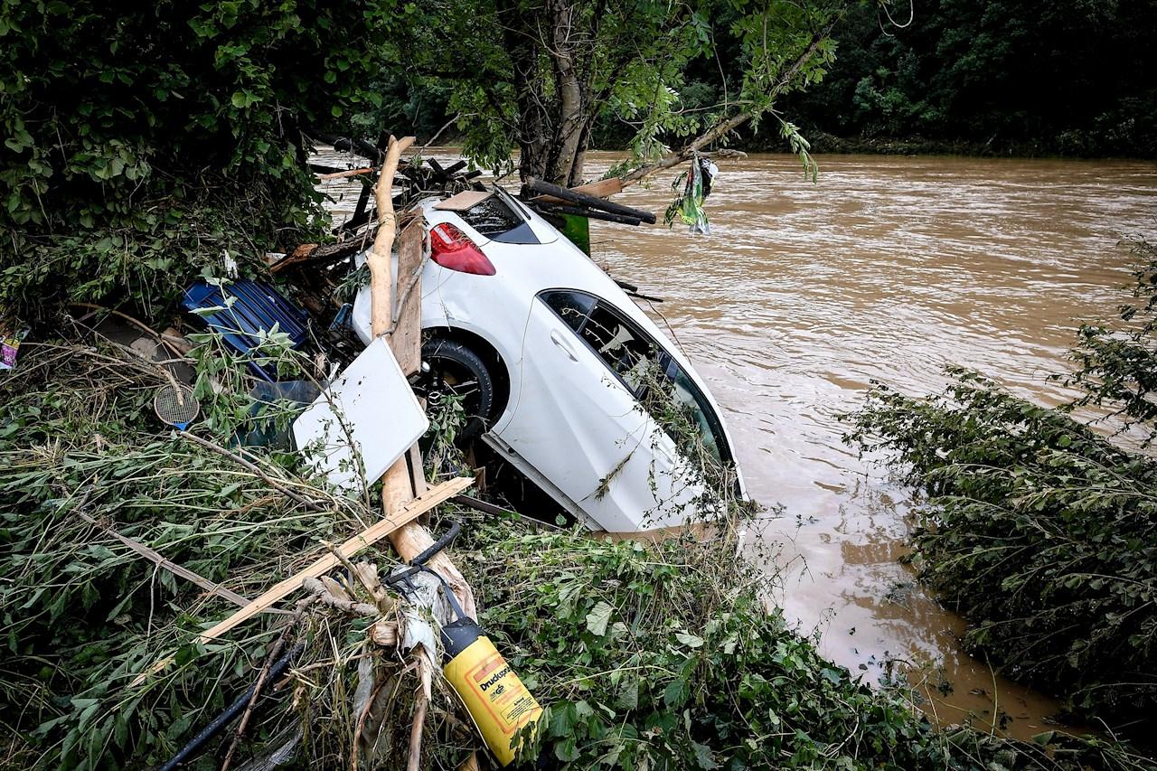 Foto de las inundaciones en Alemania