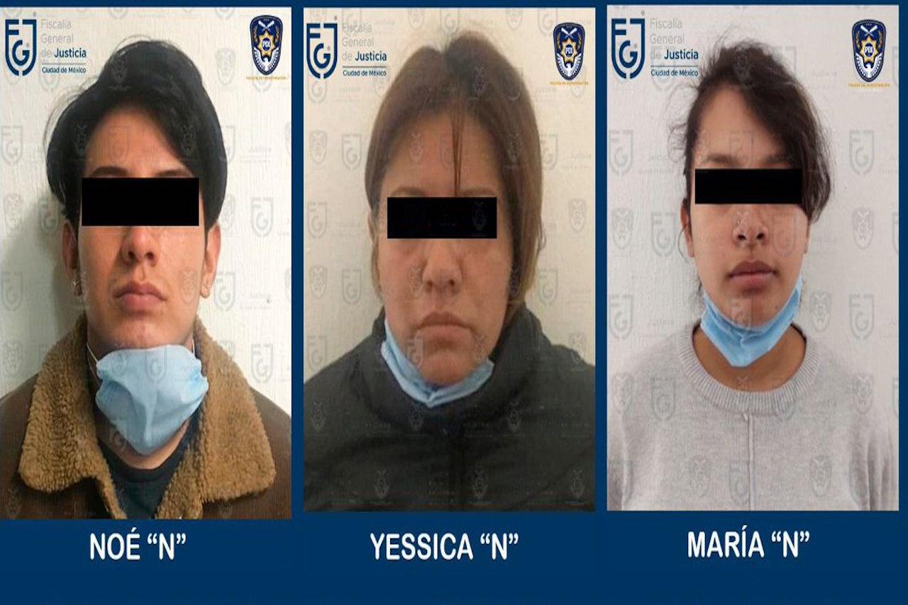 Detenidos por el feminicidio de Isabel