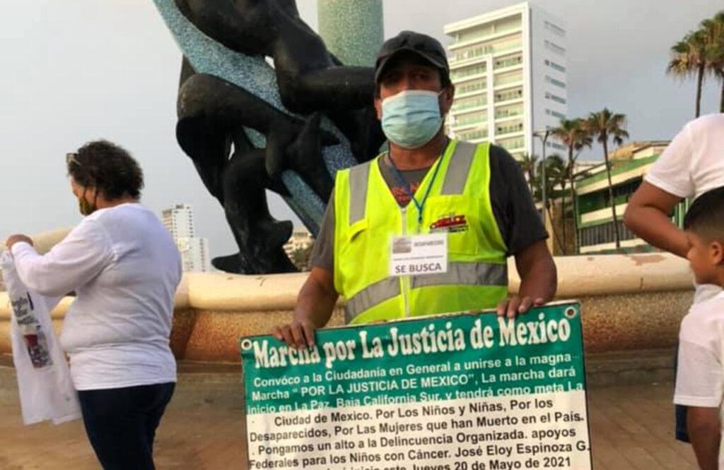 José Eloy buscaba a su hijo y hoy también está desaparecido