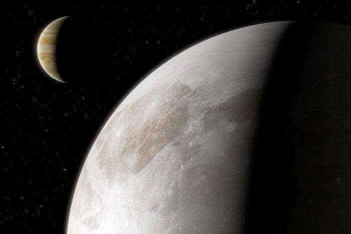 El telescopio Hubble descubre evidencias de vapor de agua en luna de Júpiter