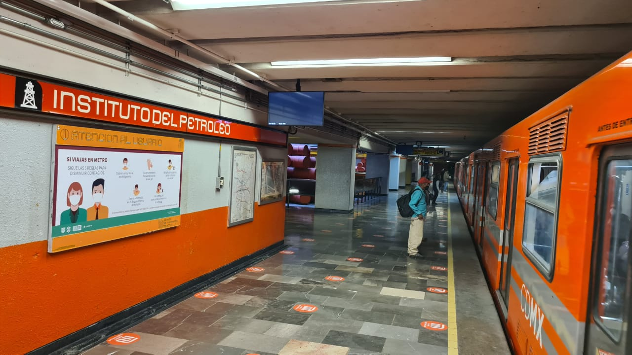 Foto de la línea 6 del metro