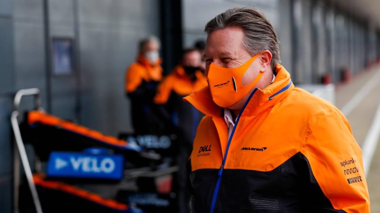 Tres casos positivos de covid en la escudería McLaren