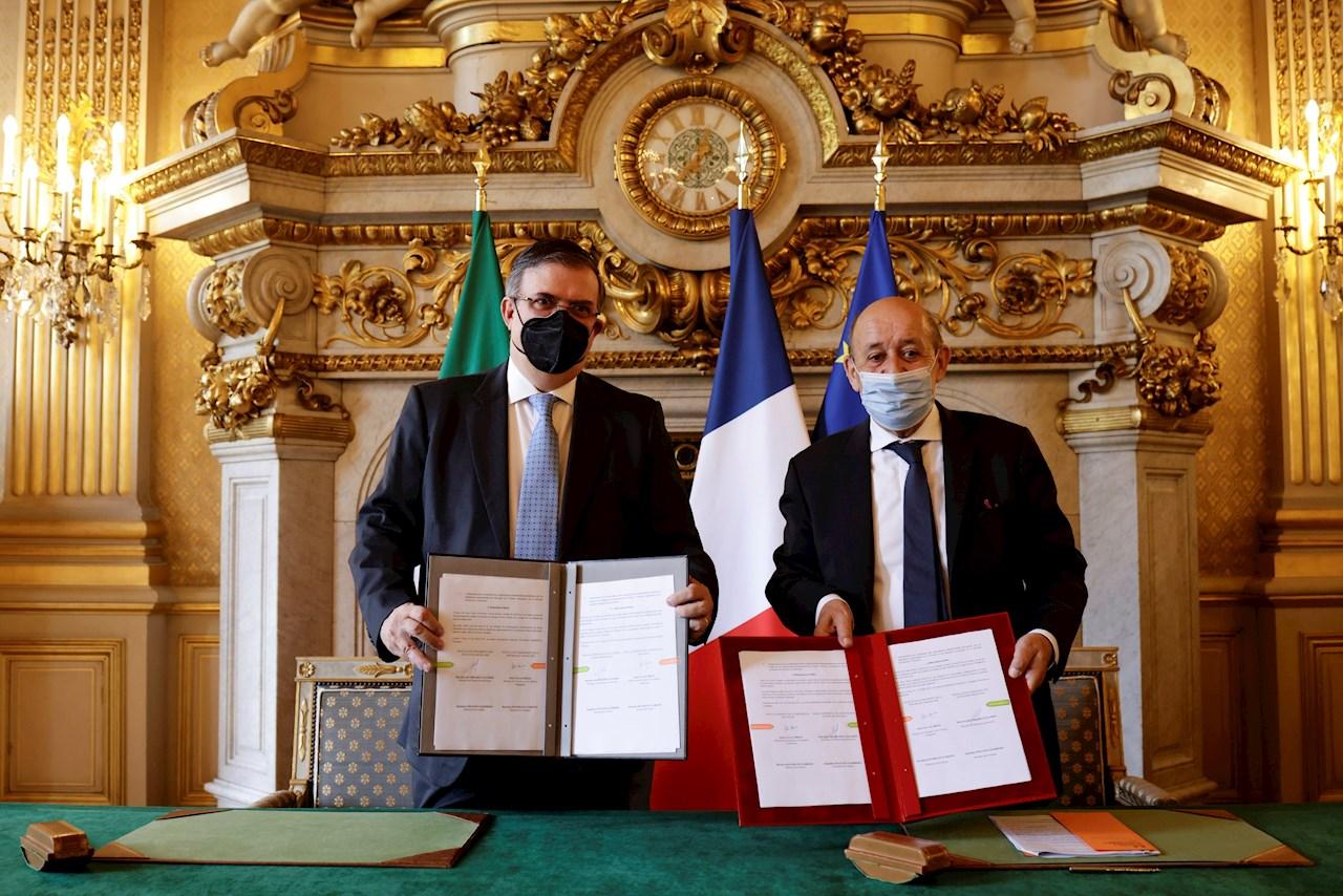 México y Francia firman acuerdo para proteger bienes culturales