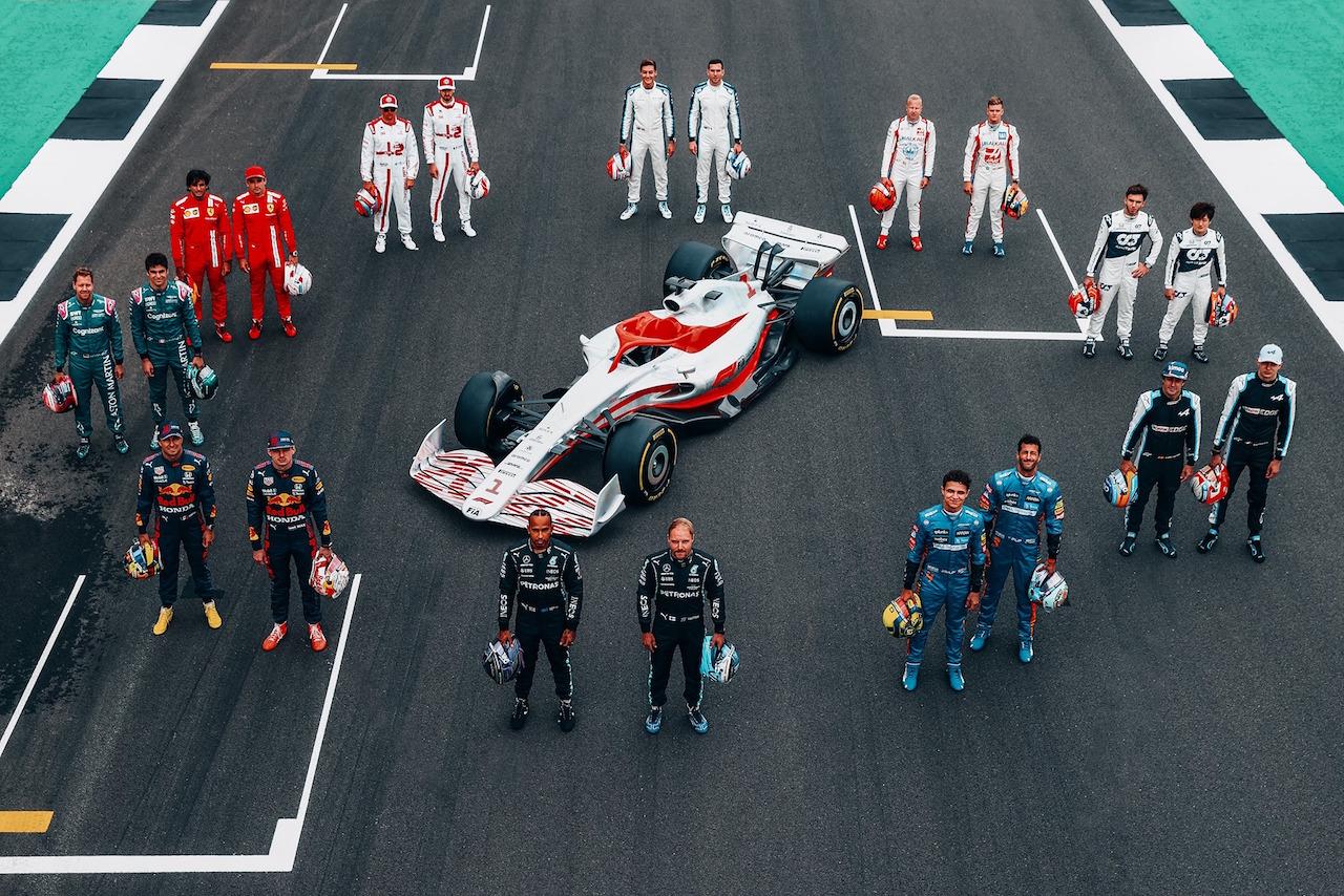 El nuevo auto de la Fórmula Uno