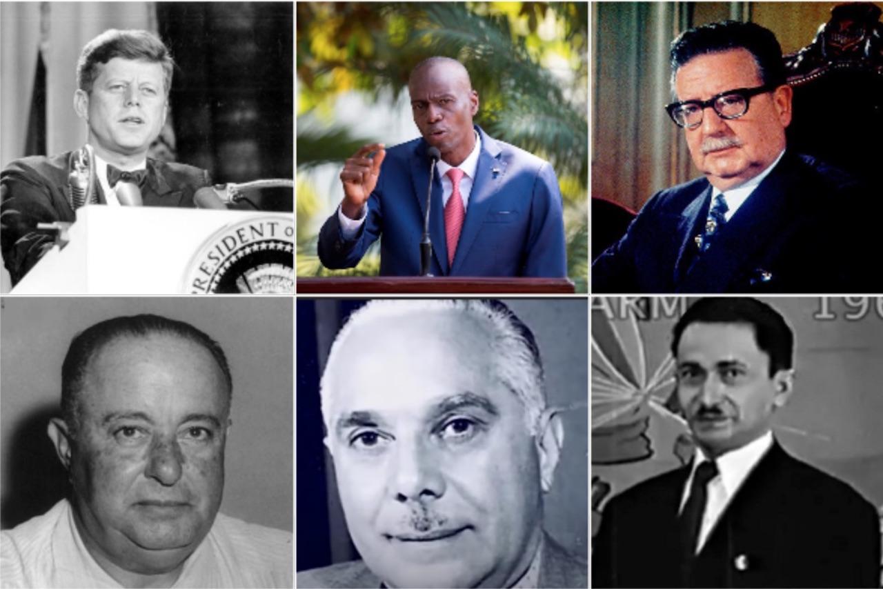 Foto de presidentes asesinados en américa