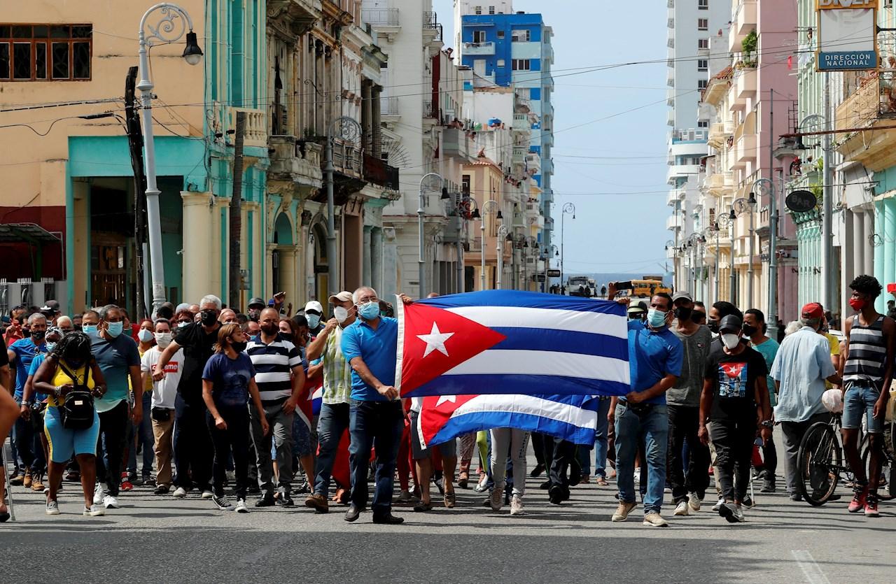 detenidos en Cuba
