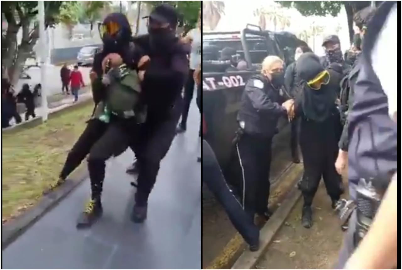 Foto protestas en Jalisco