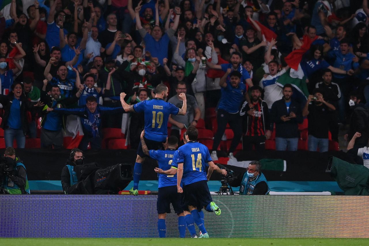 Foto de la final de la eurocopa 2021