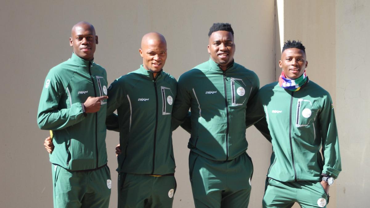Selección de futbol de Sudáfrica en Tokio 2020