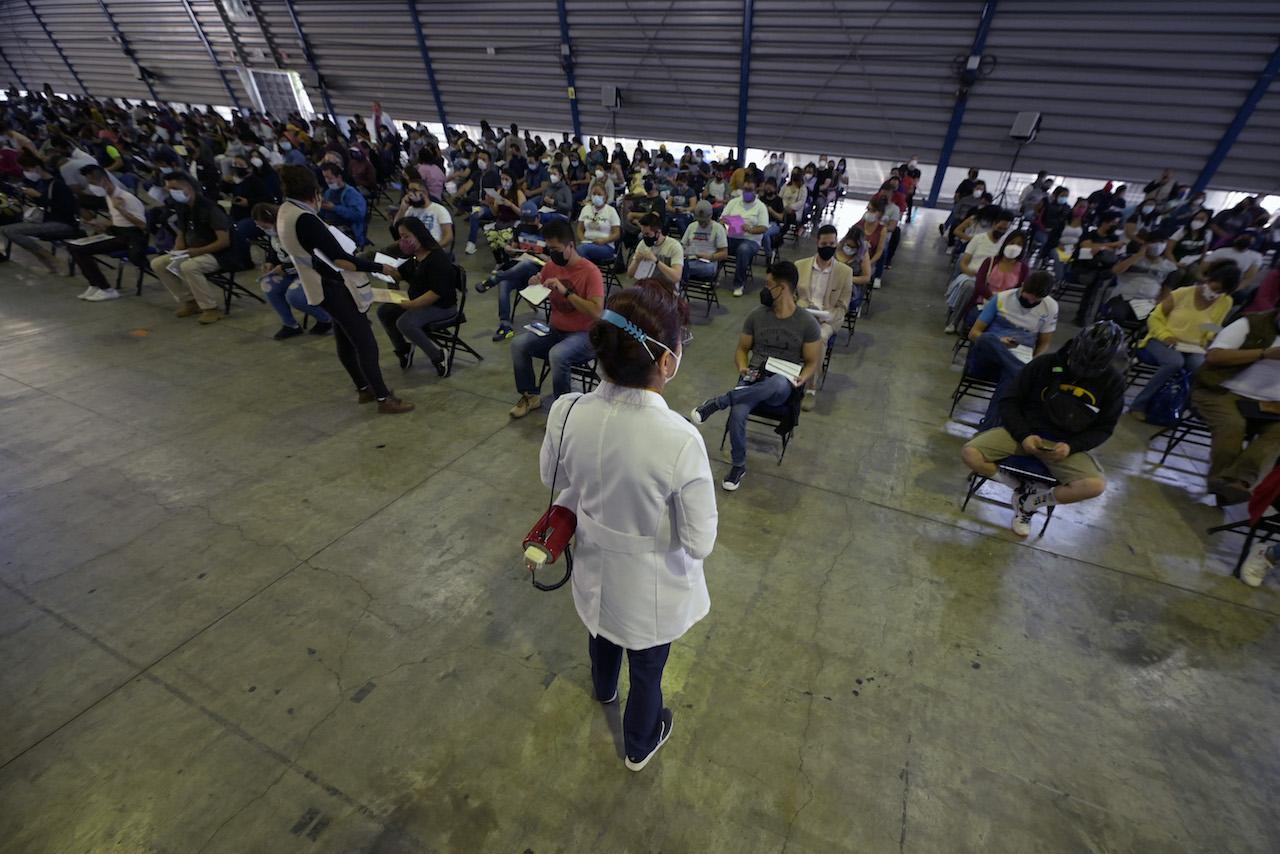 Vacunación a adultos de 30 años en Ciudad de México