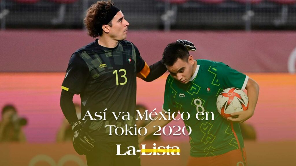 Así va México en Tokio 2020
