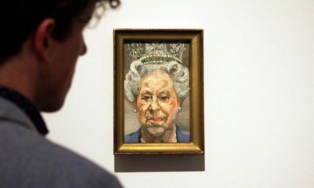El retrato de la reina Isabel II en el 'que parece un corgi' será incluido en la exposición de Lucian Freud
