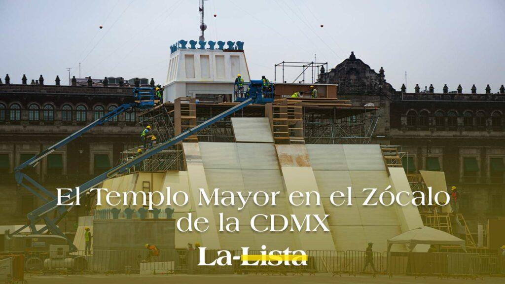 El Templo Mayor en el Zócalo de la CDMX