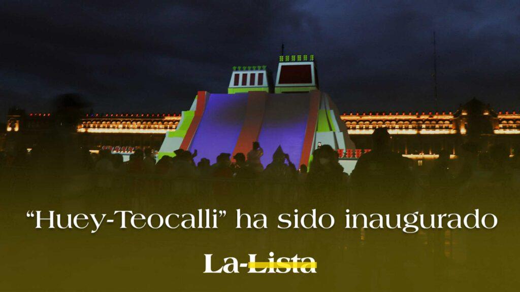 La maqueta del Templo Mayor de México Tenochtitlan, 'Huey-Teocalli' ha sido inaugurada