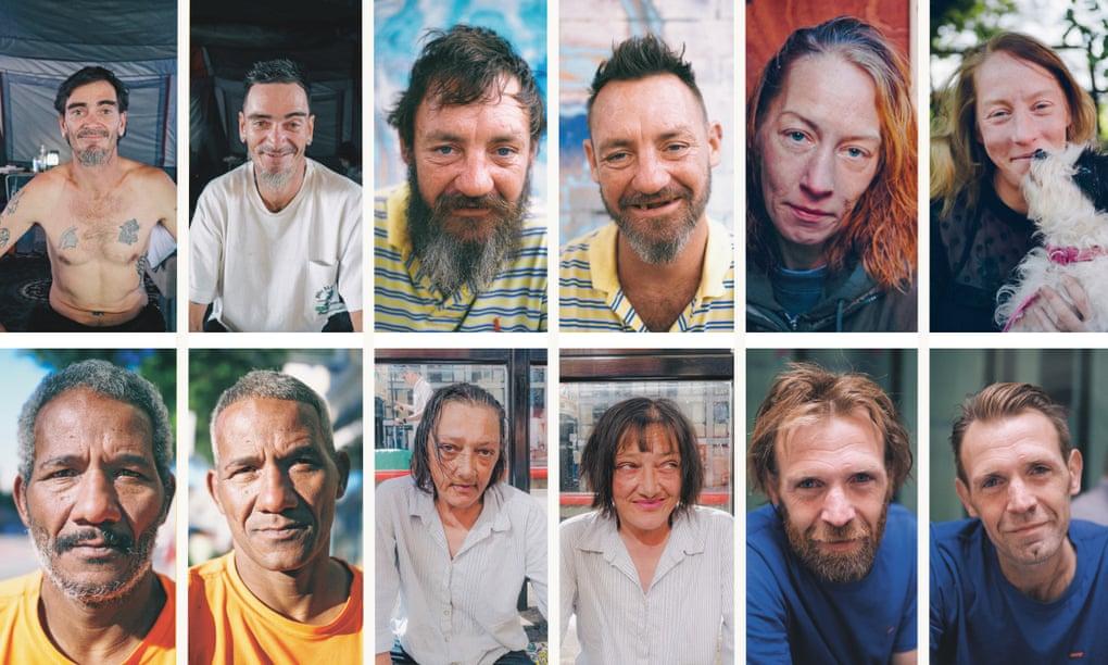 Cómo Joshua Coombes se convirtió en el peluquero de las personas sin hogar y en un ejemplo para todos