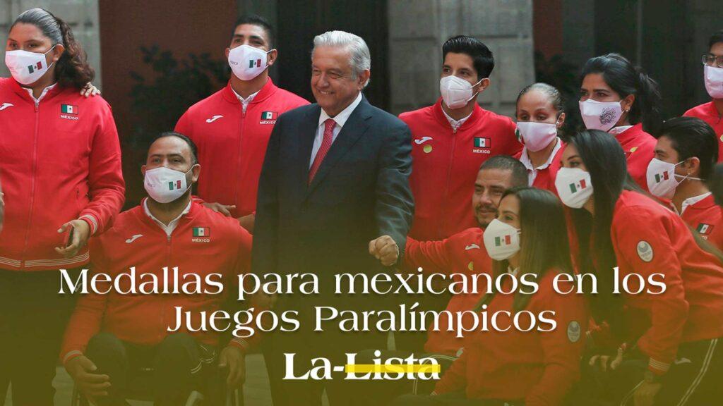 Medallas para mexicanos en los Juegos Paralímpicos