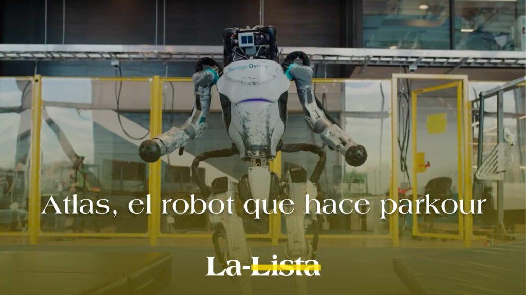 Crean robot ¡que hace parkour!