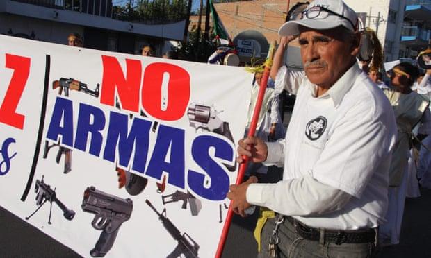 Las armas estadounidenses inundan México y causan estragos